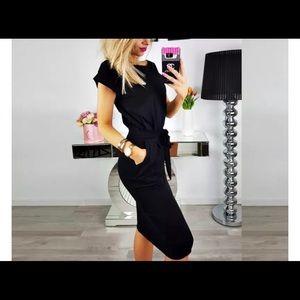 Little Black T-Shirt Dress